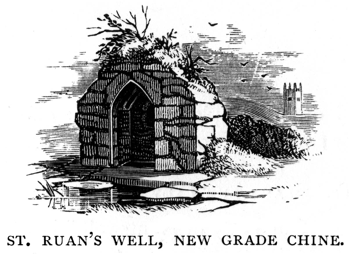 Westcountry Folklore: Saint Ruan's or Saint Rumon's Well
