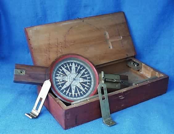wwwAntiqBuyer Surveying Instruments  Compasses