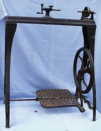 Antique Treadle Lathe For Sale