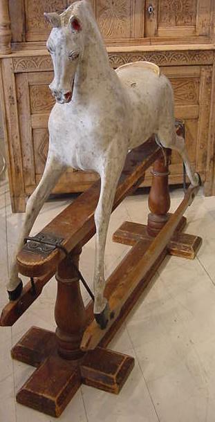 antiquerocking horseAyres  Antique Rocking Horses