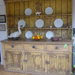 Distressed Kitchen Chairs Stonewall Aioli Dresser - Antique Cupboards And Dressers