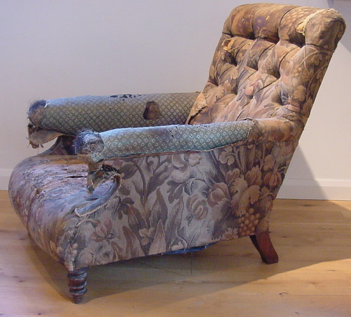 sofas tables sofa ikea kivik segunda mano howard chair - antique un reupholstered furniture