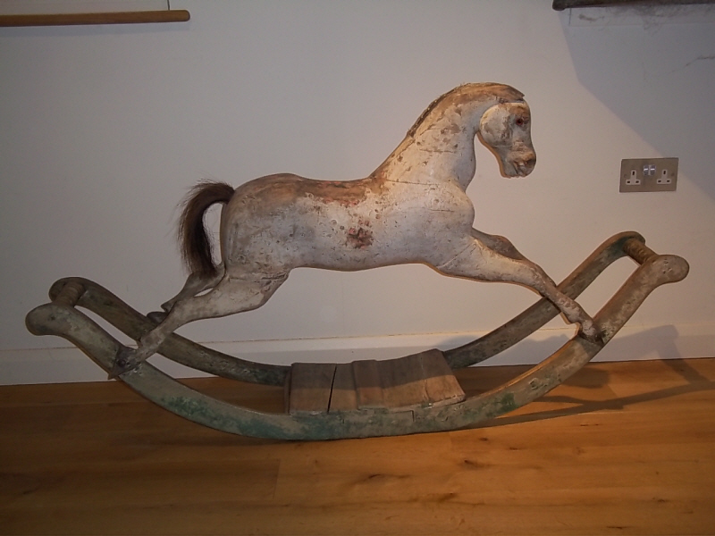 small rocking horse  Antique Rocking Horses