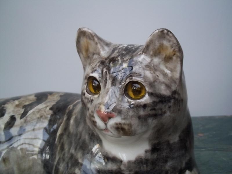 Winstanley Pottery Cat  Antique Decorative Items