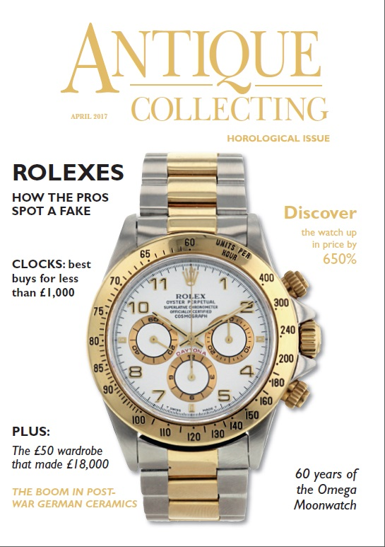 April 2017 issue of Antique Collecting magazine