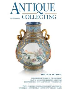 November issue of Antique Collecting