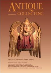 The September issue of Antique Collecting
