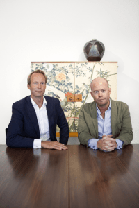 Barnebys' founders, Pontus Silfverstolpe and Christopher Barnekow
