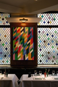 Bridget Riley's 'The Ivy' painting