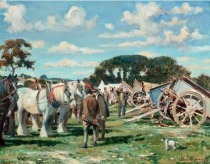 Seago painting for sale at Christies