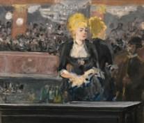 Eduard Manet's Le Bar aux Folies-Bergère