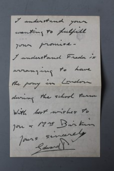 Letter from Edward VIII