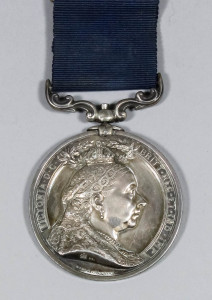 The Folkestone Hythe and Sandgate lifesaving medal