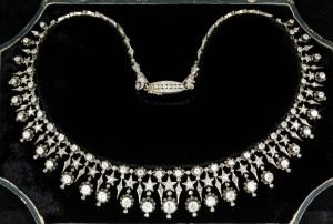 Victorian diamnond-set fringe necklace £14,000