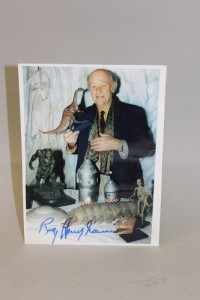 Special effects maestro Ray Harryhausen