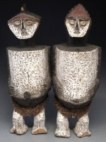Lot169 Ambete reliquary figures £100-150