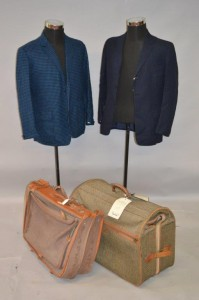 Peter Cushings' suitcases