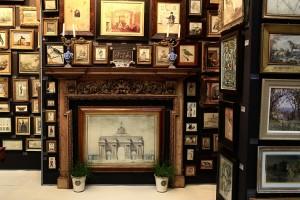 Winner of LAPADA 'best stand' Charles Plante Fine Art