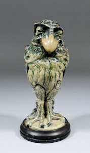 Martinware grotesque bird £10,500