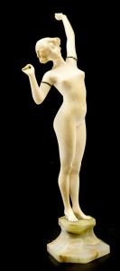 An Art Deco nude