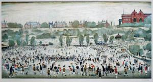 Laurence Stephen Lowry Peel Park