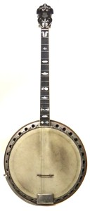 The rare Clifford Essex Paragon four-string tenor banjo