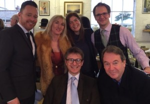 The team from Bargain Hunt