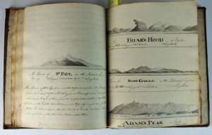 Drawings from the manuscript account of a voyage to the East Indies in the ship Duke of Grafton which sold for £1,500