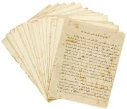 Conan Doyle's Handwritten Sherlock Holmes story