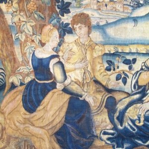 Flemish tapestry c1600