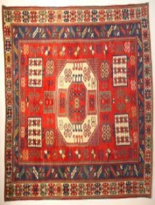 Late C19th Caucasian Karachop rug