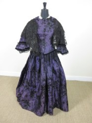 A silk formal dress