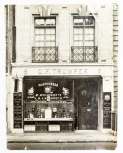 The premises of George Trumper