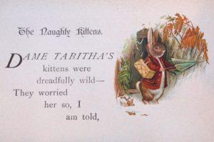 Early illustration by Beatrix Potter