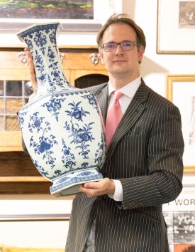 The rare Chinese vase