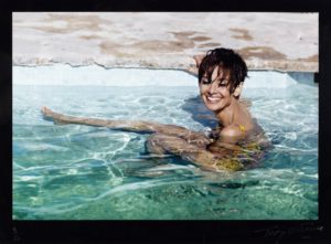 A photograph of Audrey Hepburn by Terry O'Neill