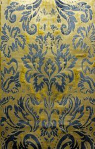 Louis XIV Cut Velvet Panel