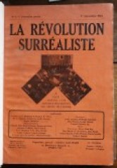 Cover of La Revolution Surrealiste
