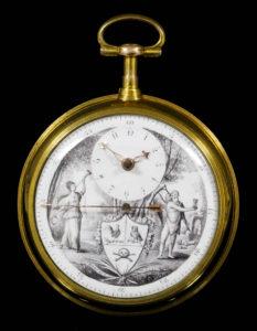 Memento mori pocket watch £2000-3000