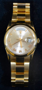 18ct rose gold Rolex Oyster