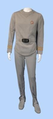 costume worn by Leonard Nimoy as Spock in the first Star Trek film