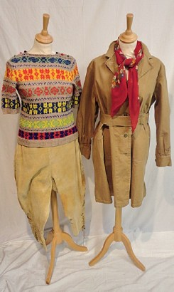 Land girl clothes