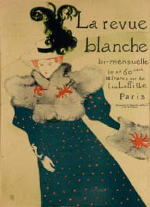 Henri de Toulouse-Lautrec vintage poster design