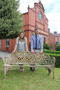 Coalbrookdale Lily of the Valley pattern bench