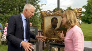 A portrait by Sir Lawrence Alma-Tadema on the Antiques Roadshow