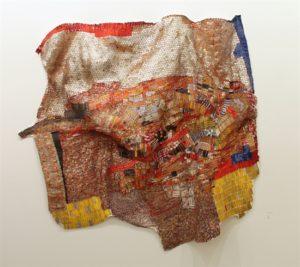 El Anatsui (Ghanaian, b. 1944) Diaspora, 2012