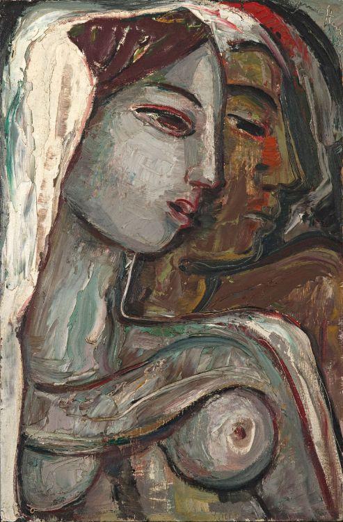 Lovers, Irma Stern
