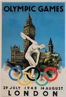 Poster for the London Olympic Games in 1948