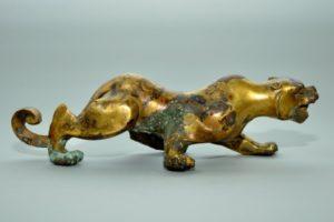 Warring States bronze of a feline