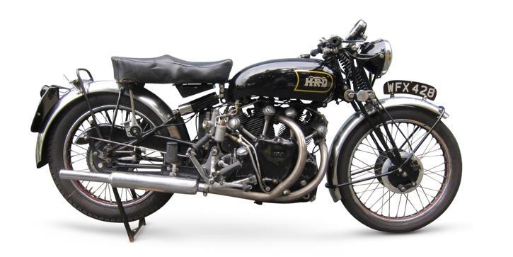 1948 Vincent-HRD 998cc Black Shadow Series-B (estimate £50,000-60,000)